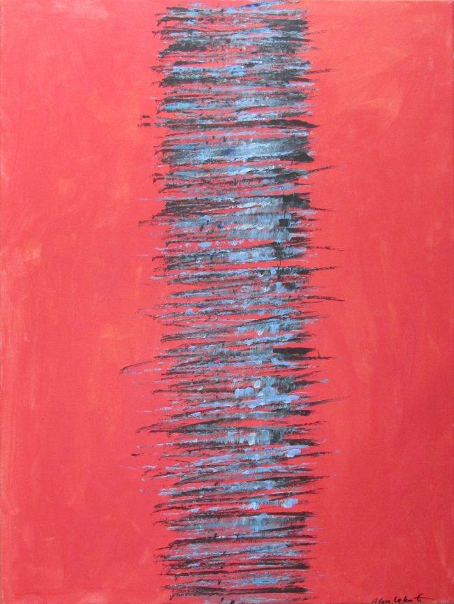 Alan Velvet, European Visual Artist, Power of the Balken #9, 2015 - Acryl on canvas - 60x80cm
