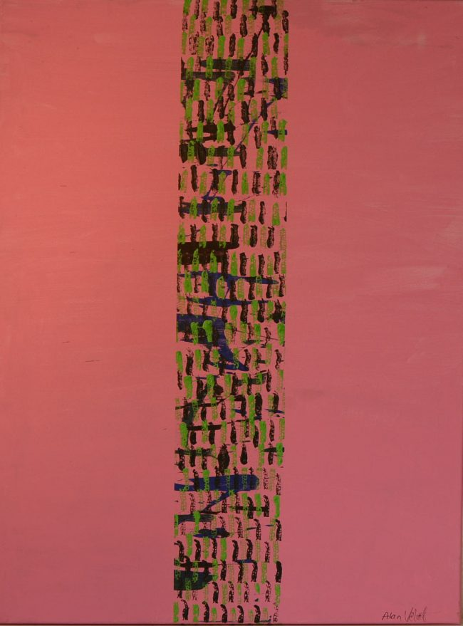 Alan Velvet, European Visual Artist, Power of the Balken #8, 2015 - Acryl on canvas - 60x80