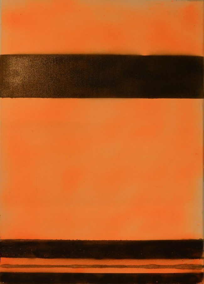Alan Velvet, European Visual Artist, Power of the Balken #1, 2014- Paint spray on canvas - 50x70cm