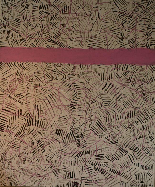 Alan Velvet, European Visual Artist, Power of the Balken #10, 2015 - Acryl on canvas - 100x120